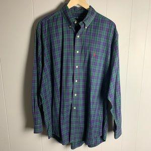 "Men's Ralph Lauren ""Blake"" Plaid Shirt-L"